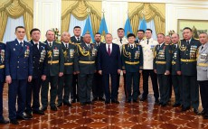 Participation in the ceremony of awarding supergrade, special and class ranks