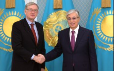 The Head of State met with former President of Slovenia Danilo Turk