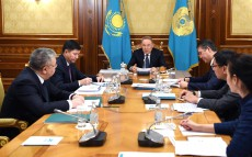 Head of State chairs the meeting on judicial system modernization