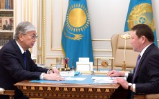 President Kassym-Jomart Tokayev received the governors of a number of regions
