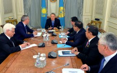 Meeting with Deputy Prime Minister of the Russian Federation Dmitry Rogozin