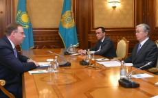 Kassym-Jomart Tokayev received Thomas Helm, Director of the Representative of the Konrad Adenauer Foundation in Kazakhstan