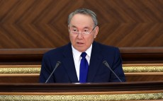 Participation in the joint meeting of Kazakhstan's Parliament Chambers
