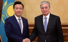 The Head of State receives Zhang Xiao, Ambassador of China