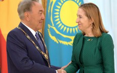 Ceremony of awarding the President of Kazakhstan with the Order of Isabella the Catholic